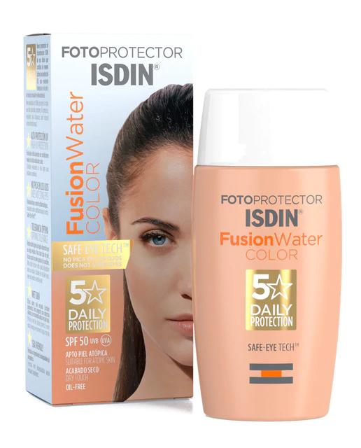 Fotoprotector Isdin Fusion Water Color SPF50 50 ml Isdin