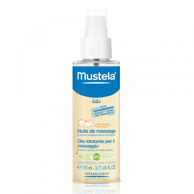 MUSTELA BEBÉ ACEITE DE MASAJE SPRAY 110 ML