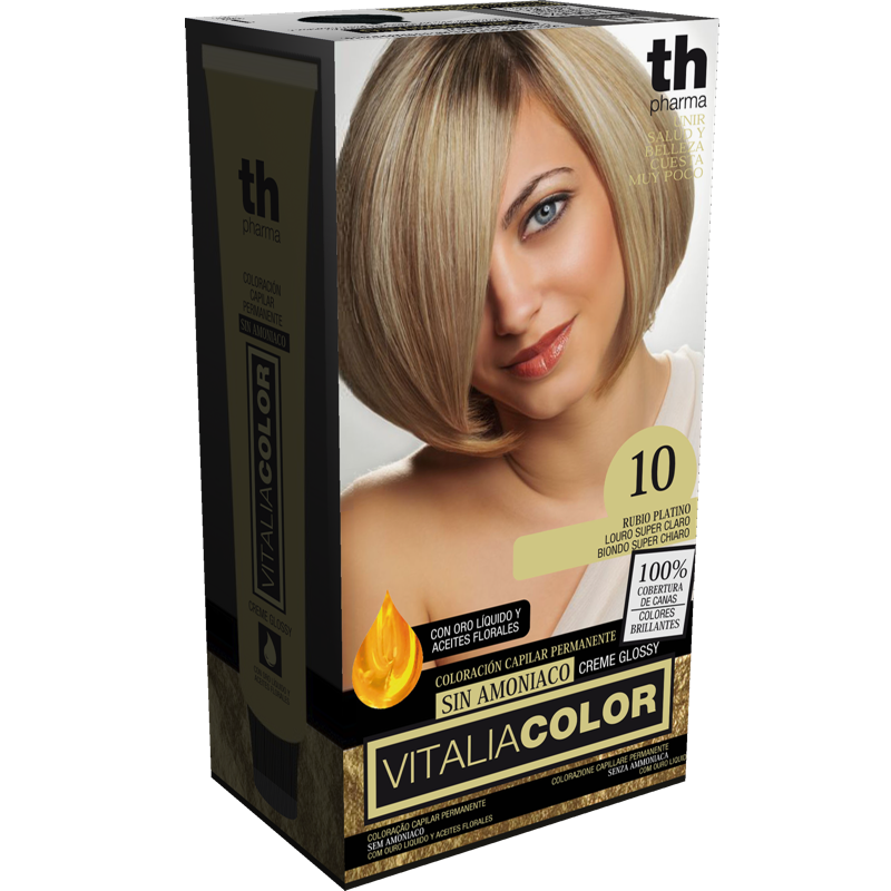 TH PHARMA VITALIA COLOR 10 RUBIO PLATINO