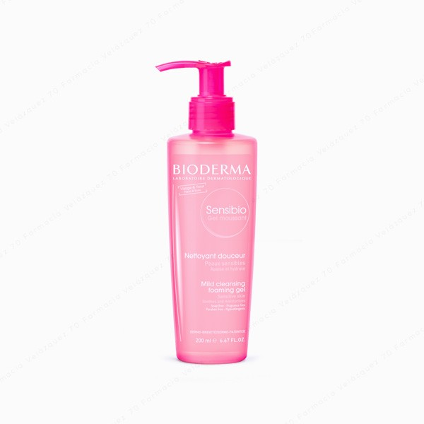 BIODERMA SENSEBIO GEL MOUSSANT 200 ML
