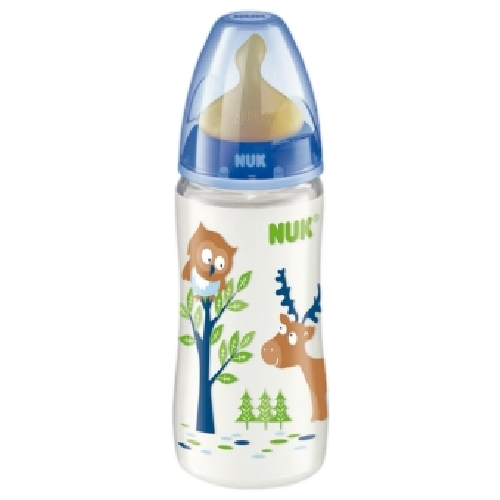 Biberon 0 Bpa Pp Latex - Nuk First Choice (300 Cc Leche T-1 M )