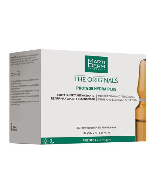 30 Ampollas Proteos Hydra Plus The originals Martiderm