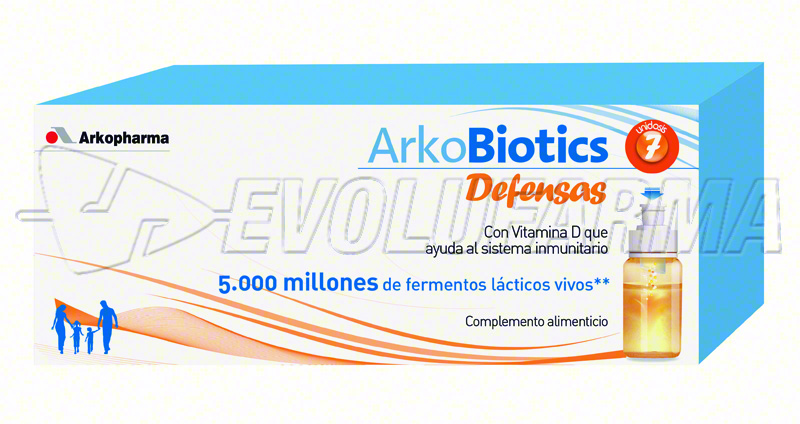 ARKOBIOTICS DEFENSAS NIÑO. 7 unidosis