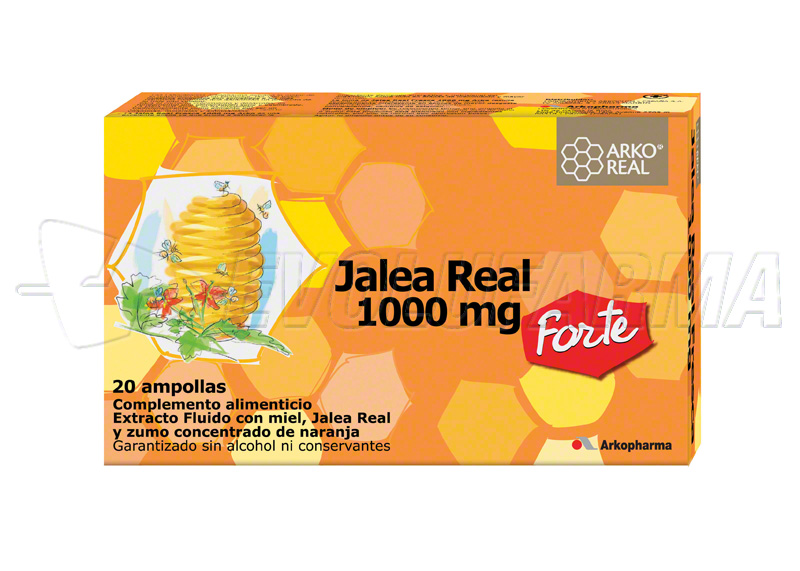 ARKO REAL JALEA REAL 1.000 MG. 20 ampollas