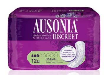 AUSONIA DISCREET COMPRESAS NORMAL 12 UDS
