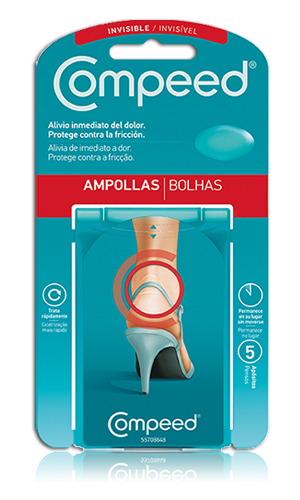 Compeed Ampollas Invisibles Hidrocoloide 5U