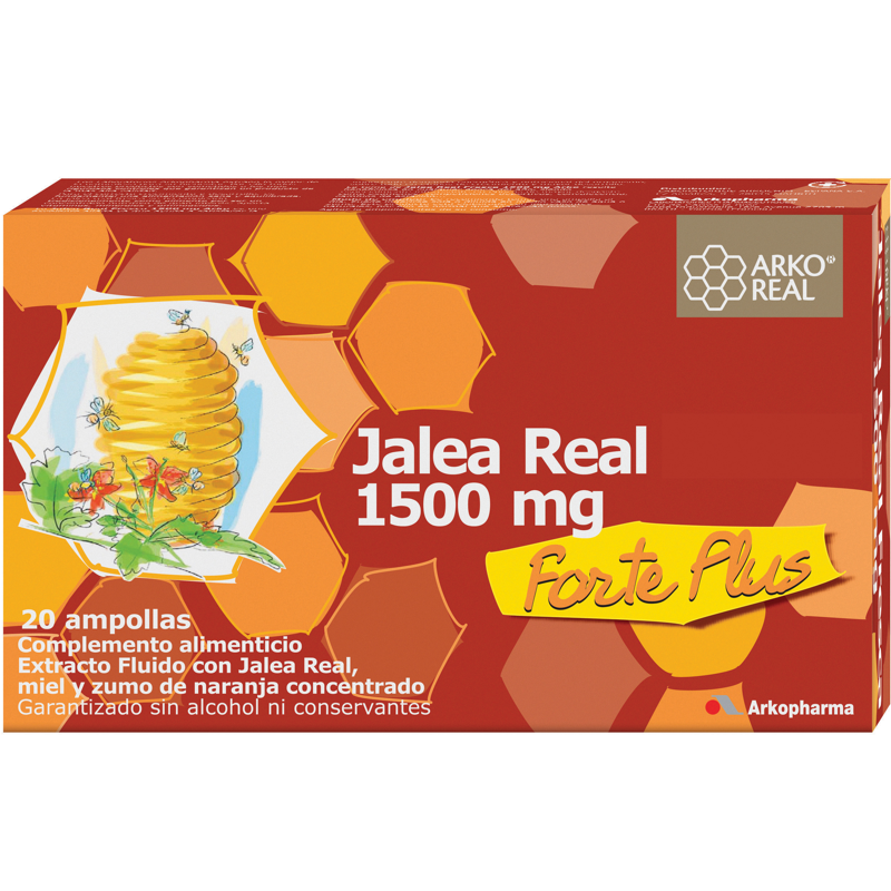 ARKO REAL JALEA REAL 1500 MG 20 AMPOLLAS