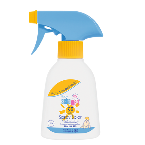 SEBAMED BABY SPRAY SPF50 200ML + REGADERA