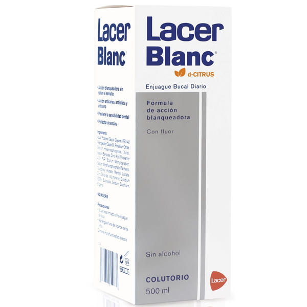 LACER BLANC COLUTORIO CITRUS 500ML