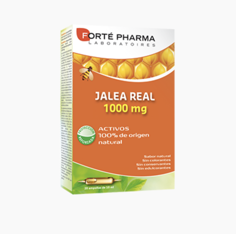 FORTE PHARMA JALEA REAL 1000 MG 20 VIALES