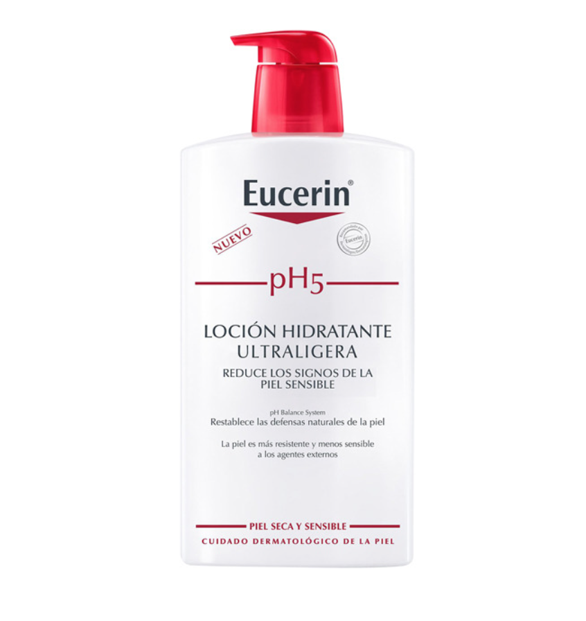 EUCERIN LOCION PH5 ULTRALIGERA 1000ML