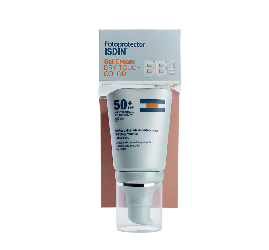 ISDIN FOTOPROTECTOR SPF 50+ GEL-CREAM DRY TOUCH COLOR 50ML