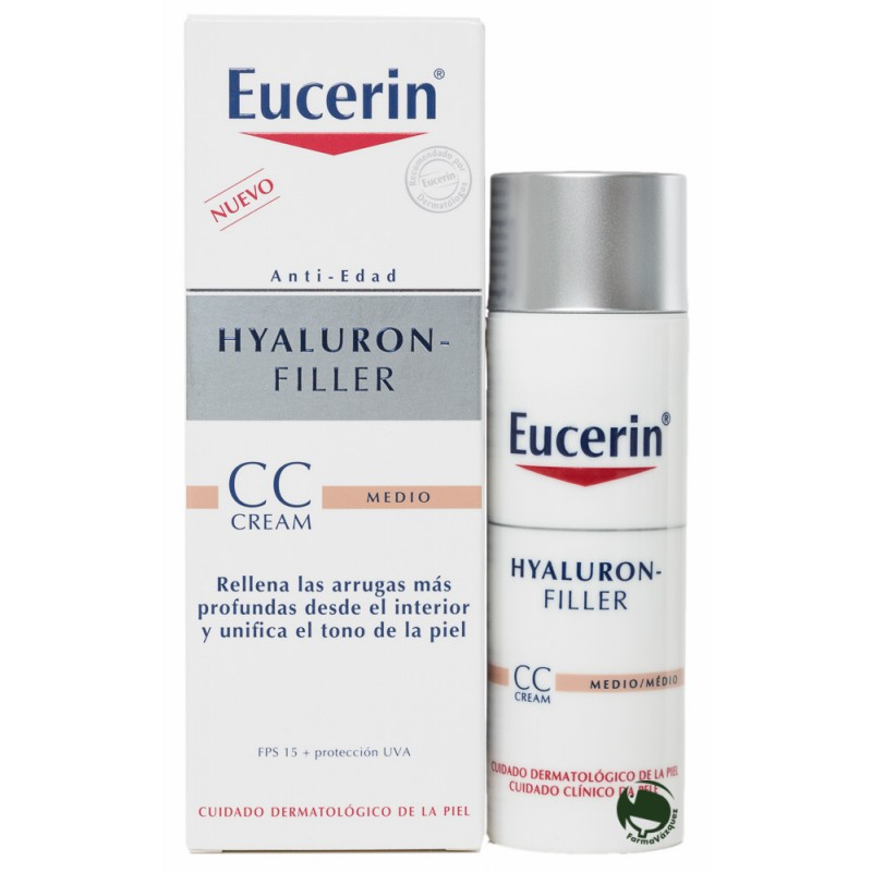 EUCERIN HYALURON  FILLER CC CREAM COLOR MEDIO 50ML