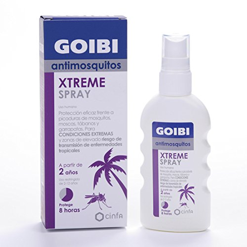 GOIBI XTREME ANTIMOSQUITOS TROPICAL LOCIÓN 75 ML