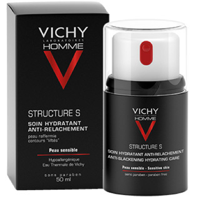 VICHY HOMME STRUCTURE S. TRATAMIENTO REAFIRMANTE. 50ML