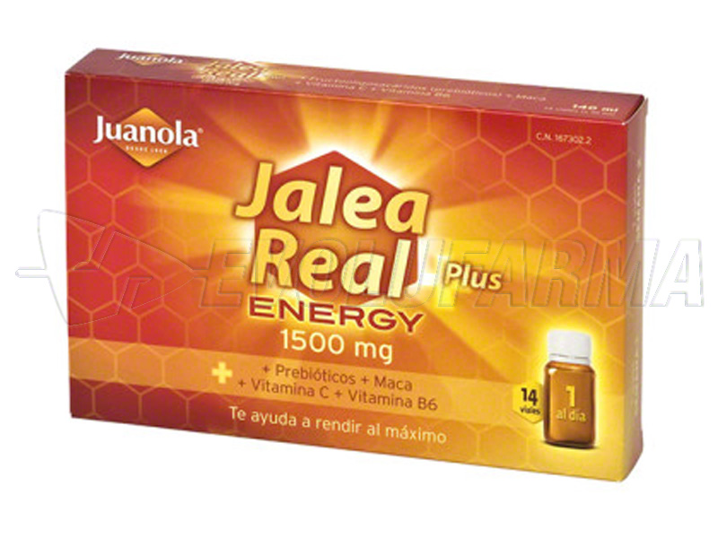 JUANOLA JALEA REAL ENERGY PLUS, 14 viales