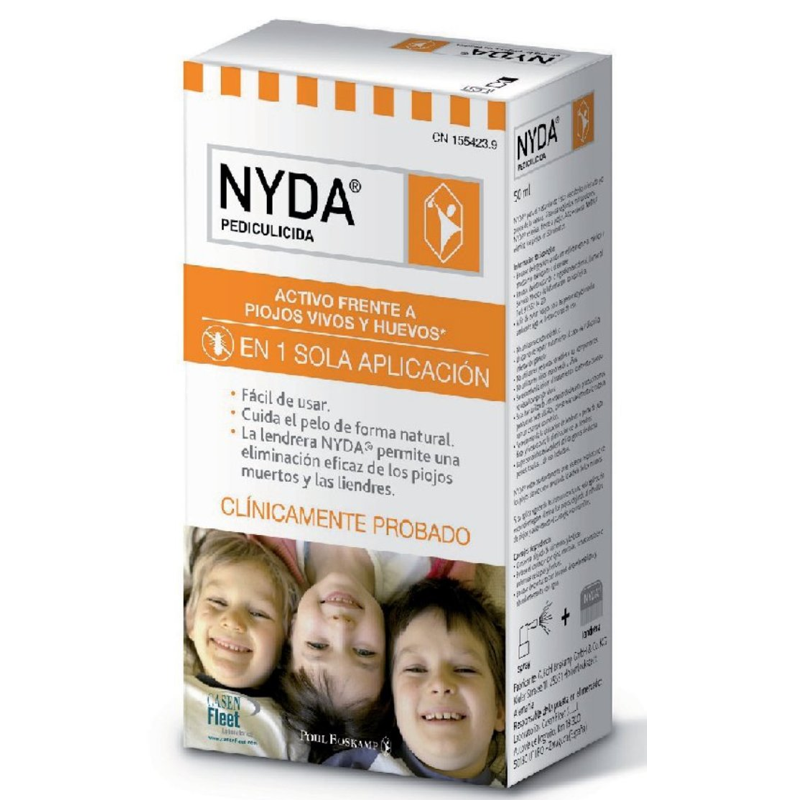 NYDA PEDICULICIDA SPRAY ANTIPIOJOS 50 ML