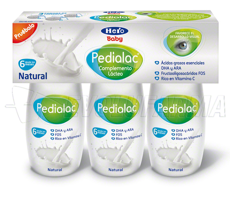 PEDIALAC COMPLEMENTO LACTEO. Botella de 100 ml. Pack 3 uds.
