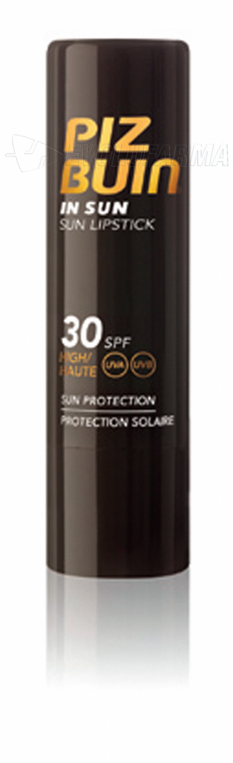 PIZ BUIN IN SUN STICK LABIAL SPF 30. 4.9 g.