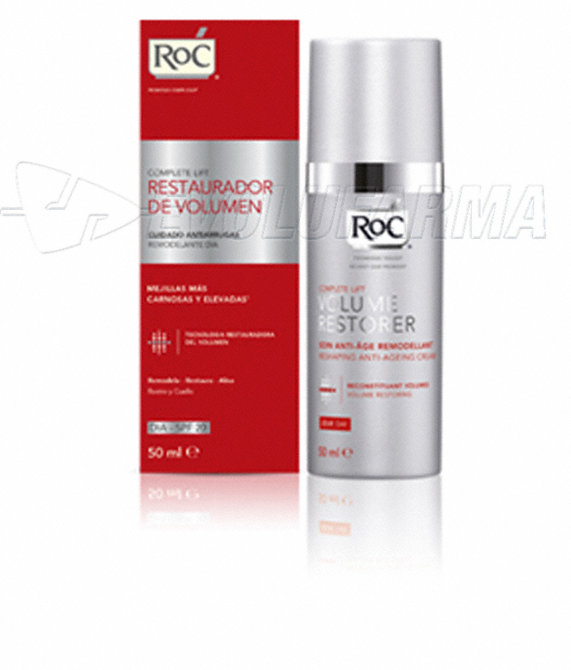 ROC COMPLETE LIFT CREMA RESTAURADORA DE VOLUMEN DIA. 50 ml.
