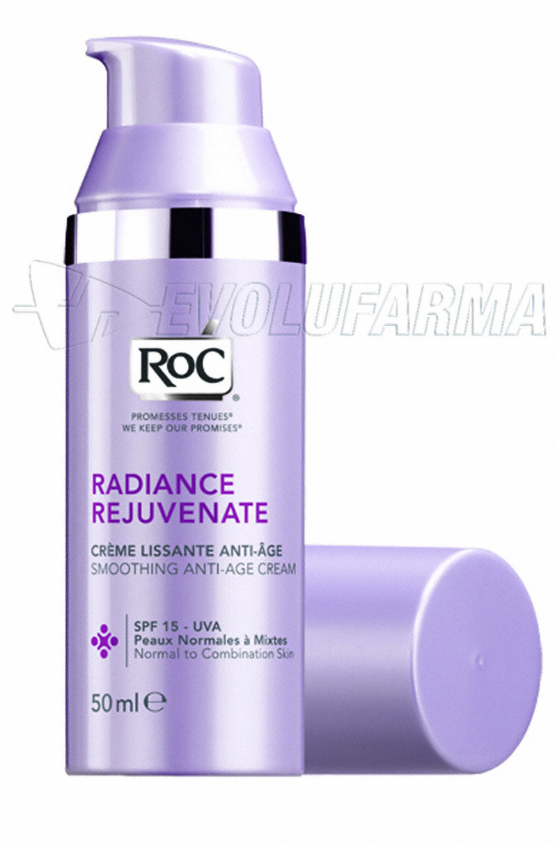 ROC CREMA ANTIEDAD SUAVIZANTE PIEL NORMAL Y MIXTA. 50 ml.
