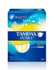 TAMPAX PEARL 24 UNIDADES