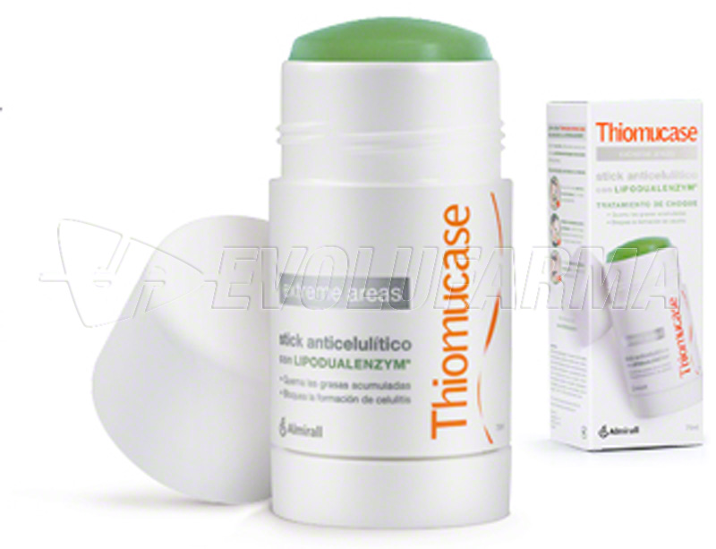 THIOMUCASE EXTREME AREAS. Stick de 75 ml.