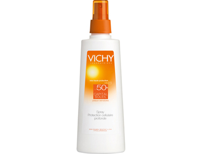 VICHY CAPITAL SOLEIL SPRAY SPF 50+. Spray de 125 ml.