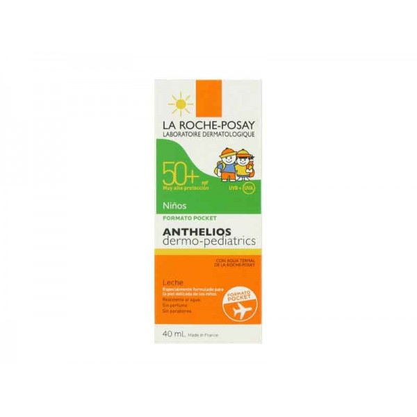 ANTHELIOS SPF50+ DERMOPEDIATRICO LECHE FORMATO POCKET 40ML