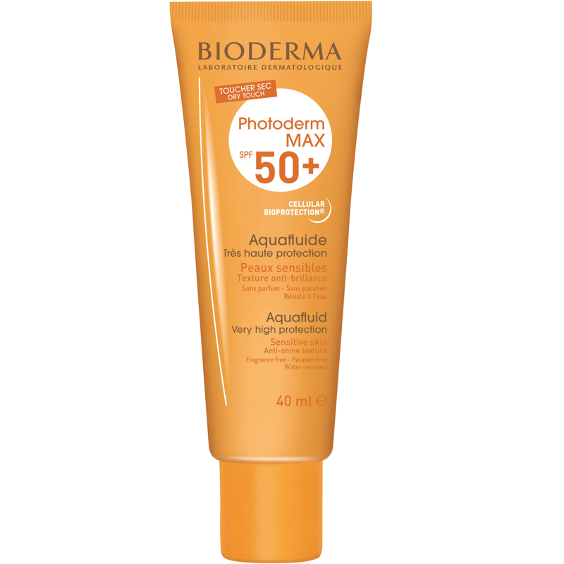 BIODERMA PHOTODERM MAX SPF50+ AQUAFLUIDE INCOLORO 40ML