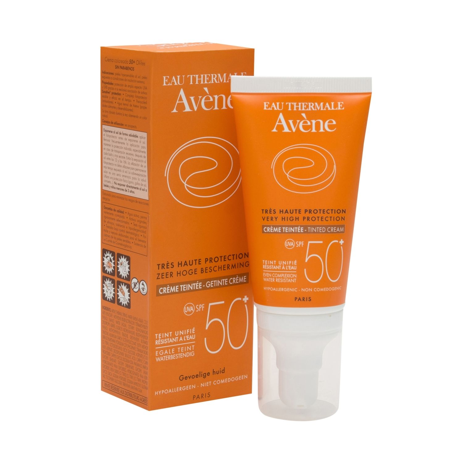 AVENE CREMA SOLAR SPF 50+ COLOR 50ML