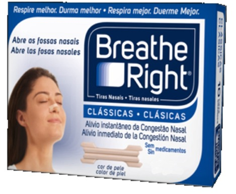 Breathe Right Peq/Med 10 uds. Tira Nasal