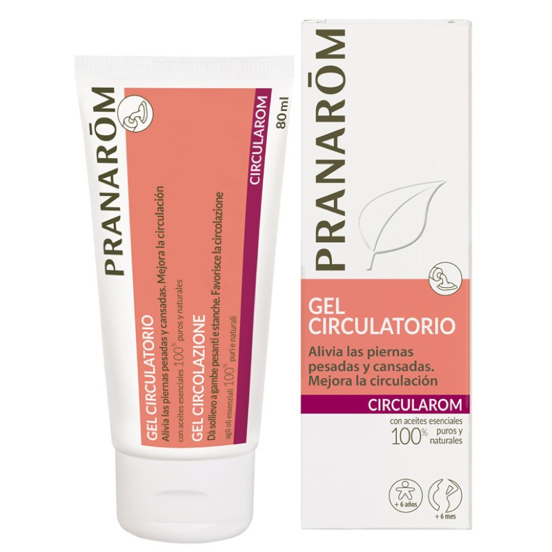 PRANAROM GEL CIRCULATORIO 80ML