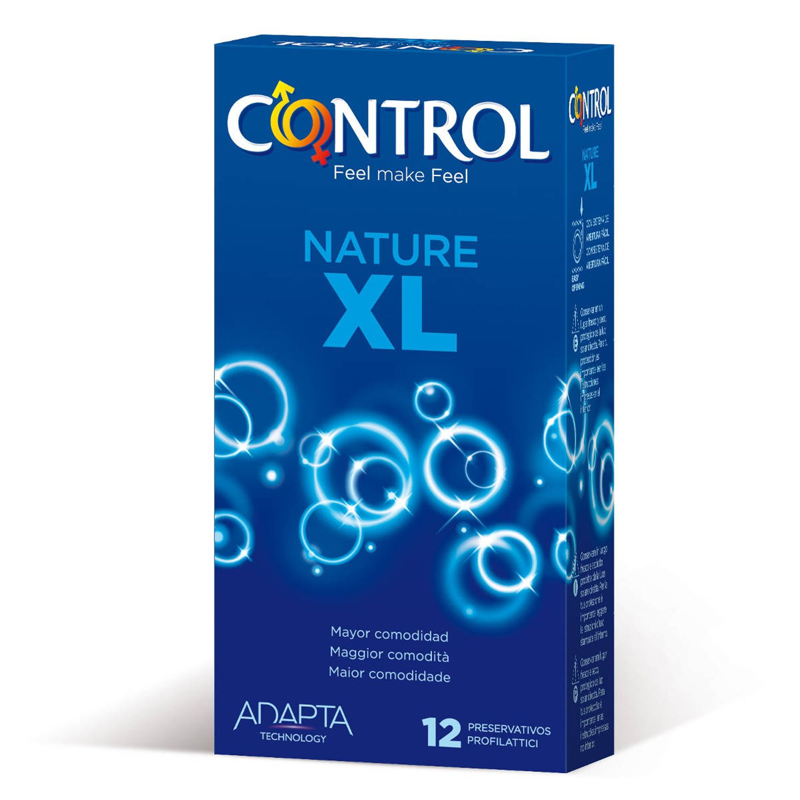 CONTROL ADAPTA NATURE XL 12UDS