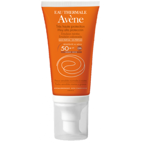 AVENE EMULSIÓN COLOREADA SPF 50+ 50ml