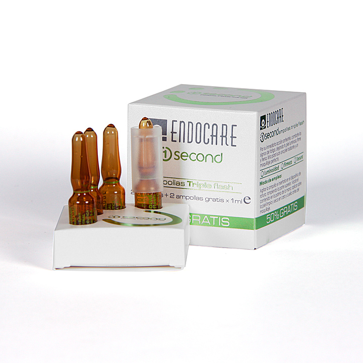 ENDOCARE 1 SECOND TRIPLE FLASH 2 AMPOLLAS 1ML