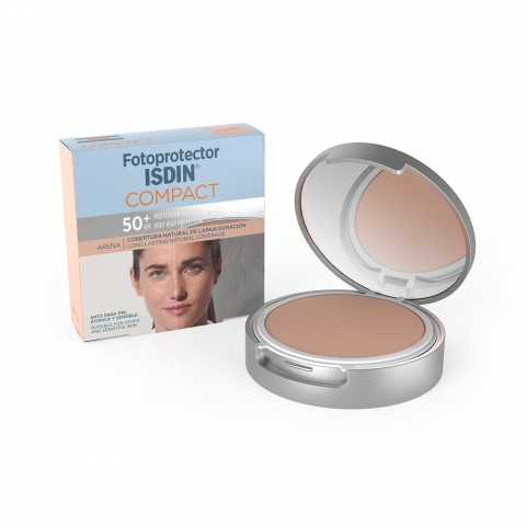 ISDIN FOTOPROTECTOR  COMPACT  50+ COLOR ARENA 10GR