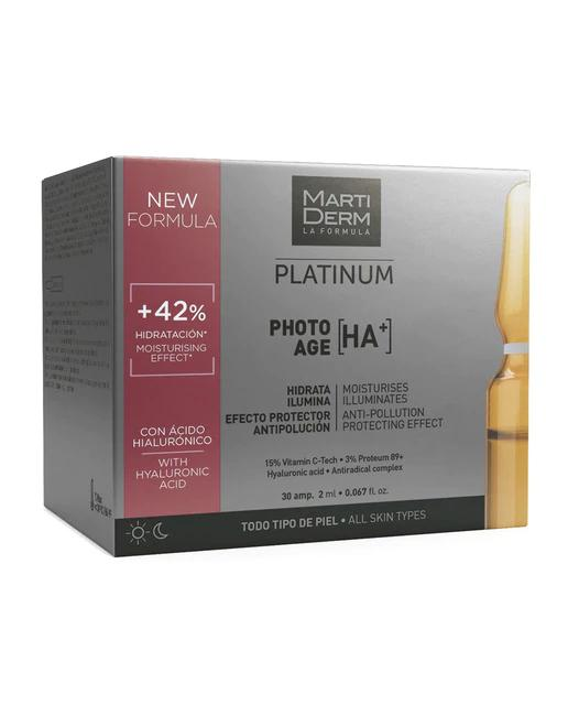 30 Ampollas Platinum Photo-Age Martiderm
