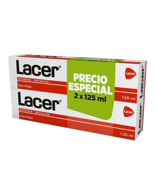 Duplo Pasta Dentífrica Lacer 125 ml Lacer