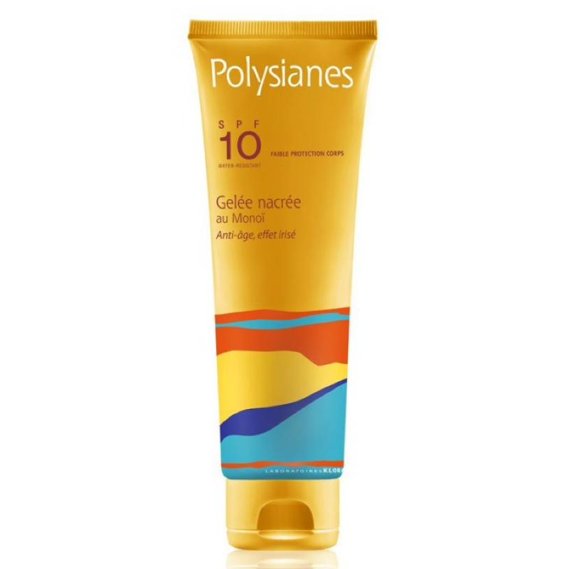 POLYSIANES GEL NACARADO SPF 10. 125ML