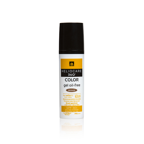 HELIOCARE 360º COLOR BRONZE GEL OIL FREE SPF50+ 50ML