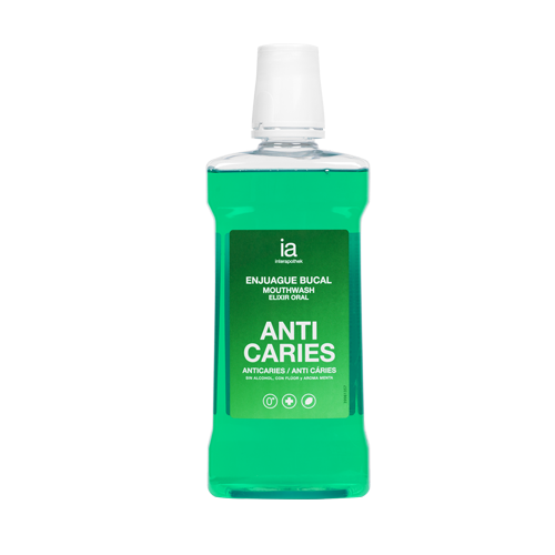 COLUTORIO INTERAPOTHEK ANTICARIES MENTA 500ML
