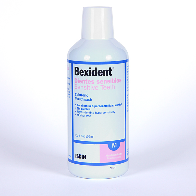 BEXIDENT COLUTORIO DIENTES SENSIBLES 500ML