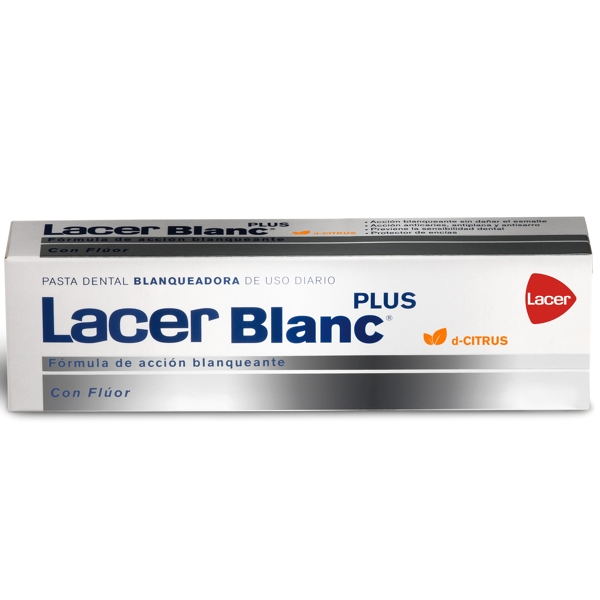 LACER BLANC PLUS PASTA CITRUS 75ML