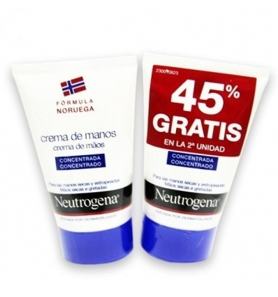 NEUTROGENA CREMA DE MANOS CONCENTRADA 50 ML 2U