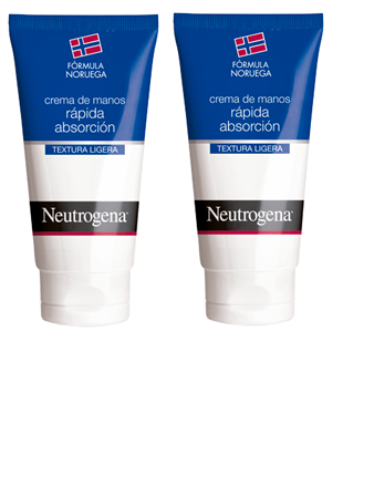 NEUTROGENA CREMA DE MANOS RAPIDA ABSORCION DUPLO 75ML+75ML