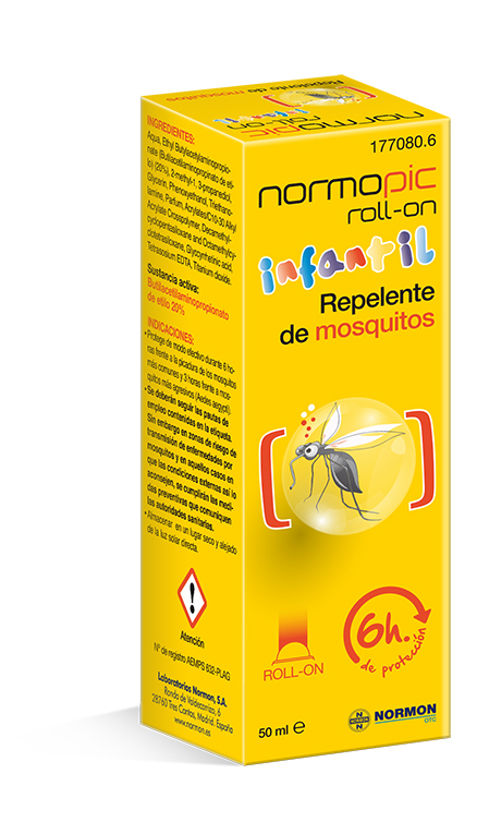 NORMOPIC REPELENTE MOSQUITOS ROLL-ON INFANTIL