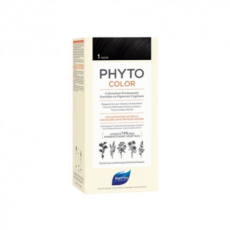 Phytocolor Tinte 1 Negro