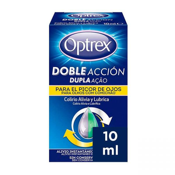 OPTREX DOBLE ACCION PICOR DE OJOS 10ML