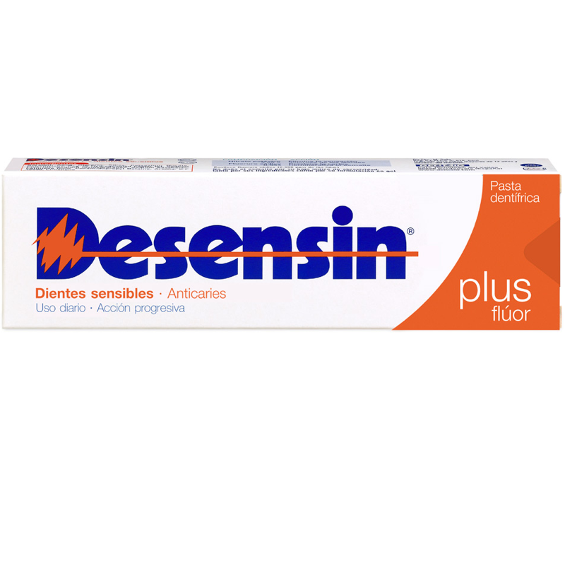 DESENSIN PLUS FLUOR PASTA DENTÍFRICA 125ML